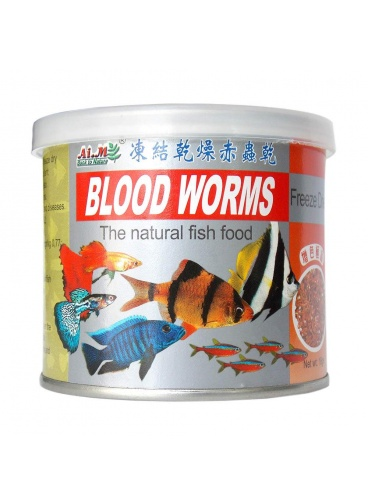 AIM BLOOD WORMS KURUTULMUŞ KAN KURDU 18 GR SKT : 10/2021