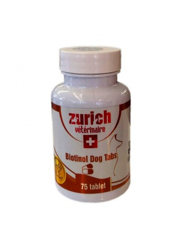 ZURİCH BİOTİNOL DOG TABS 75 TABLET SKT : 01/2022