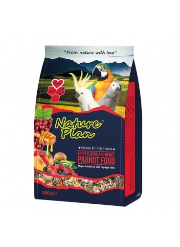 Nature Plan Papağan Yemi 800 gr SKT : 02/2021