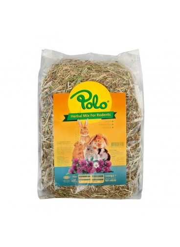 Polo Herbal Mix For Rodents Kemirgen Otu Yoncası 1000 gr