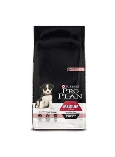 PROPLAN MEDİUM SENSİTİVE SOMONLU YAVRU KÖPEK MAMASI 12 KG