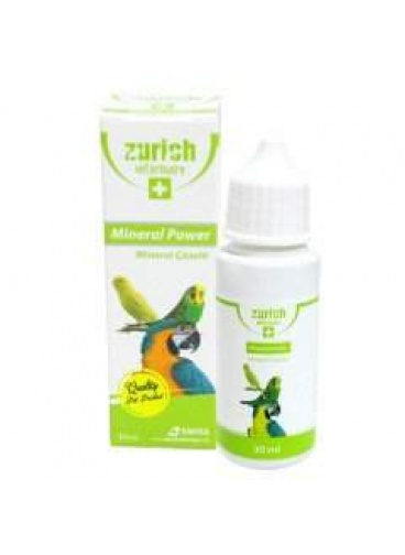 Zürich Kuşlar İçin Mineral Power  30 ml
